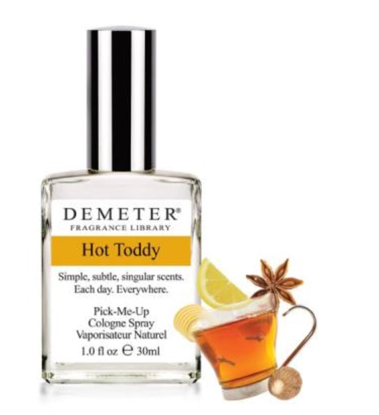 Hot Toddy: Demeter Cologne Spray