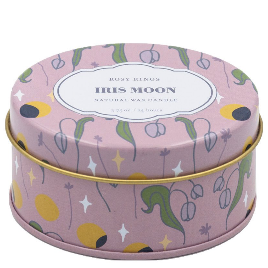 Iris Moon Travel Candle