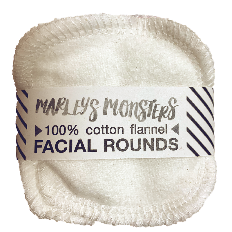 white: 20 FACIAL ROUNDS