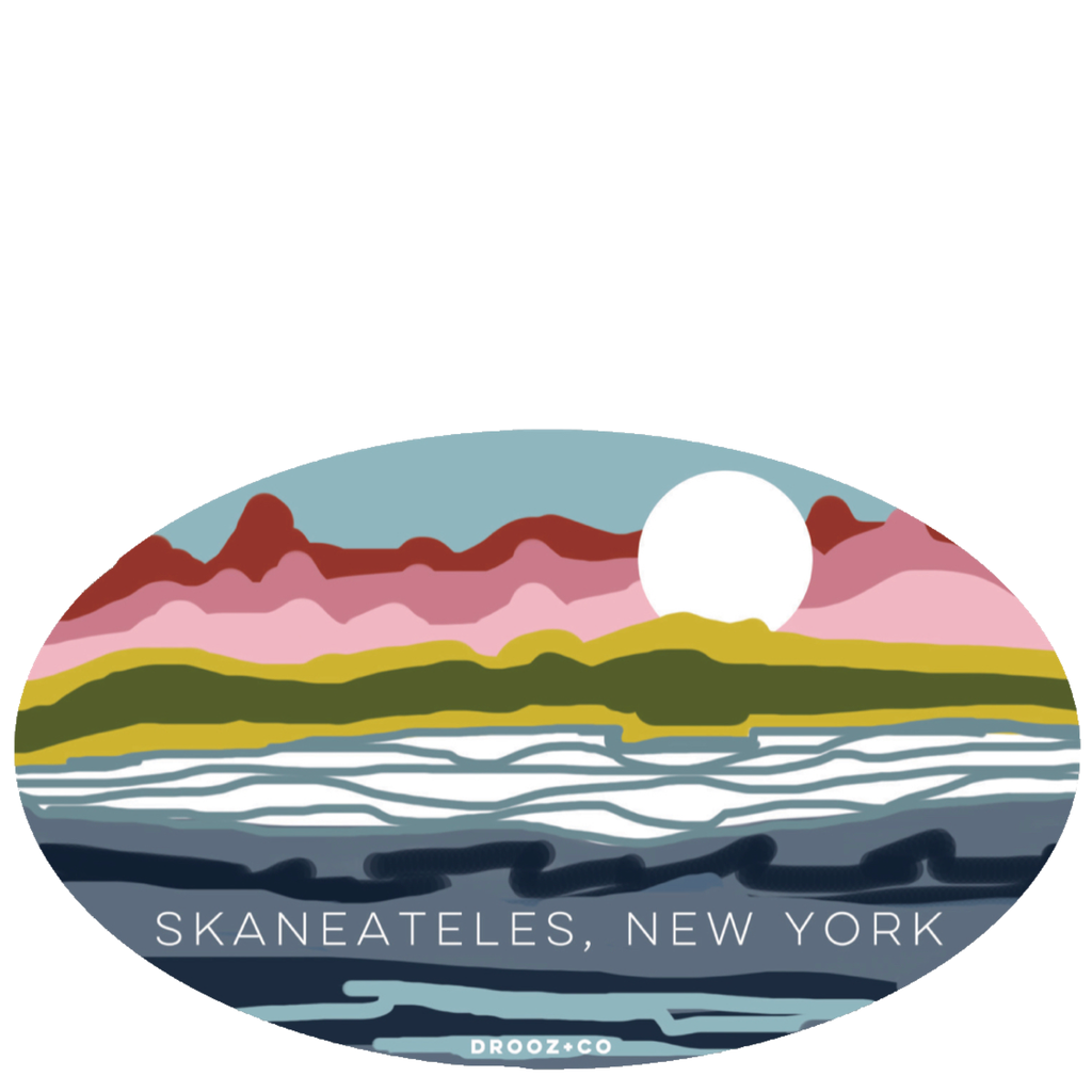 sticker: Skaneateles
