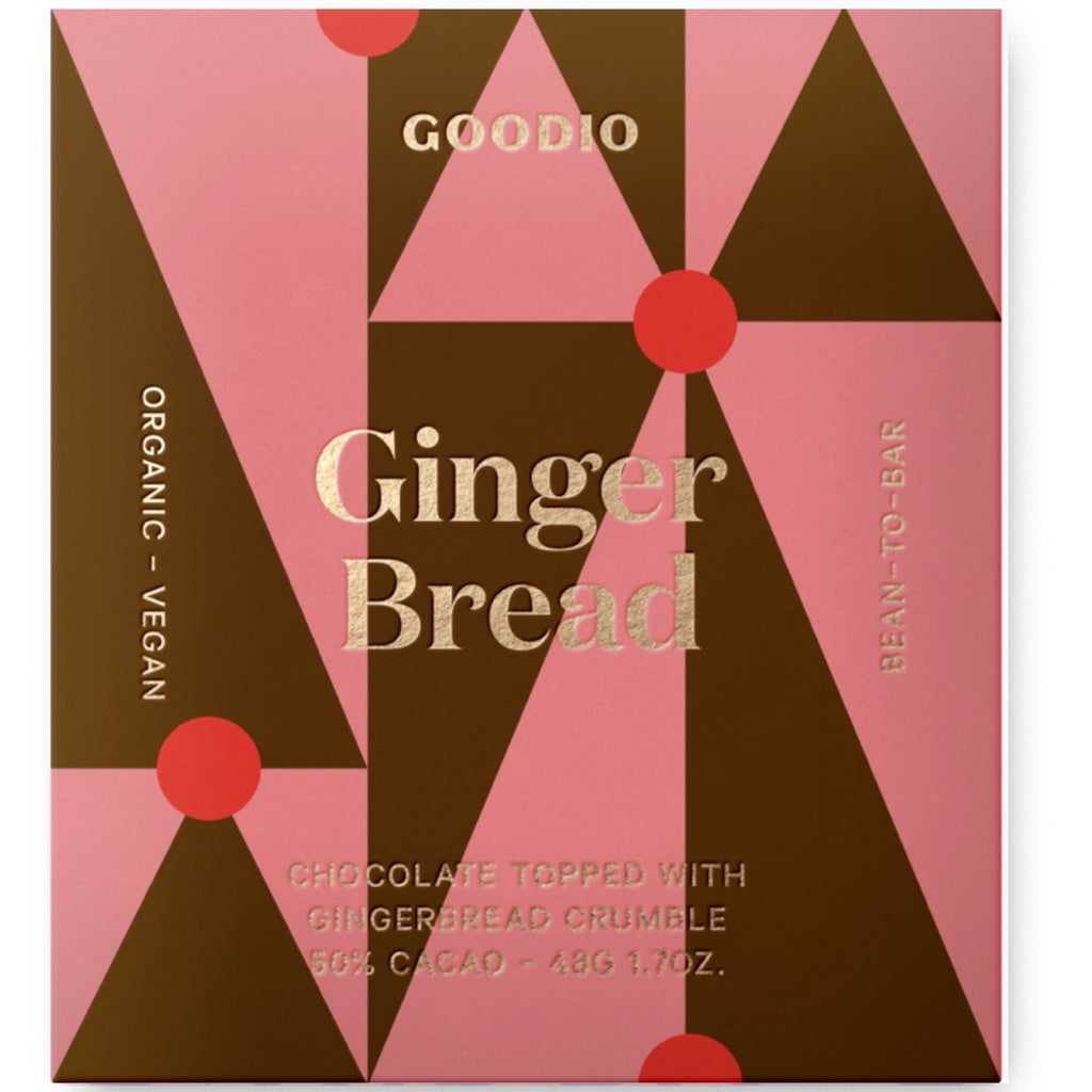 Gingerbread Holiday: Goodio Chocolate Bar