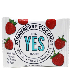strawberry almond coconut: YES Bar