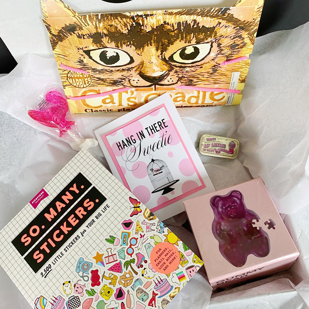 """Hang in there Sweetie"" Gift Box"