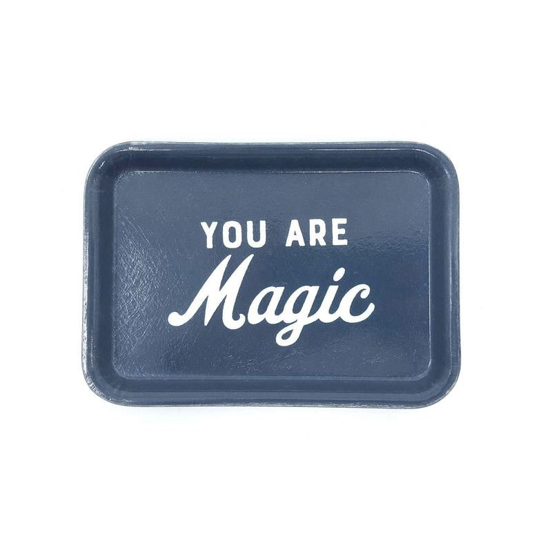 Magic trinket tray
