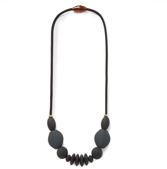 Signature Necklace: charcoal