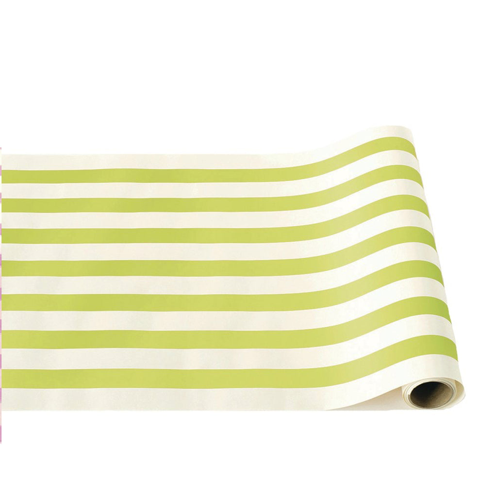 lime: paper table runner