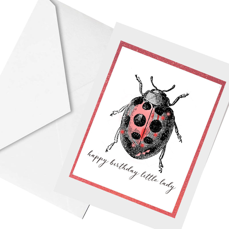 little lady ... greeting card