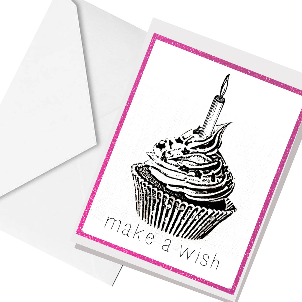 make a wish... greeting card