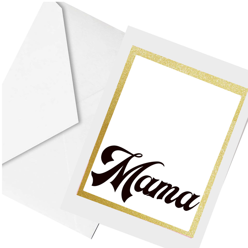 mama... greeting card
