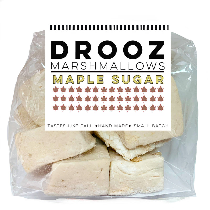 maple sugar marshmallows: DROOZ