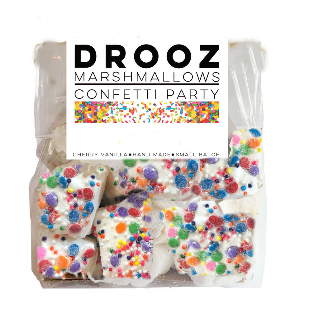 confetti marshmallows: DROOZ
