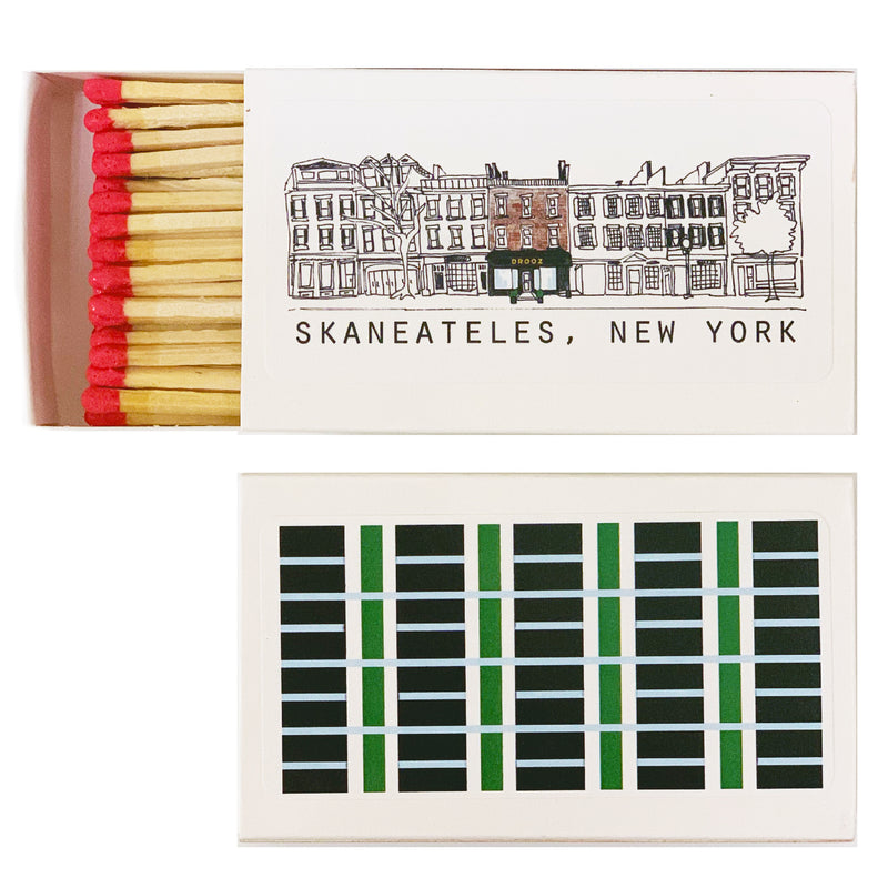 Skaneateles Village DROOZ matchbox