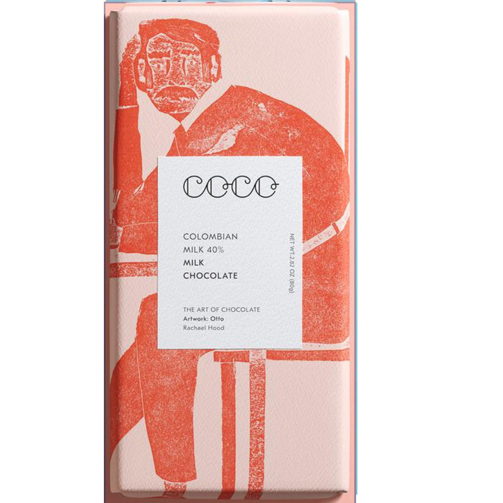 Plain Columbian Milk  Coco Bar