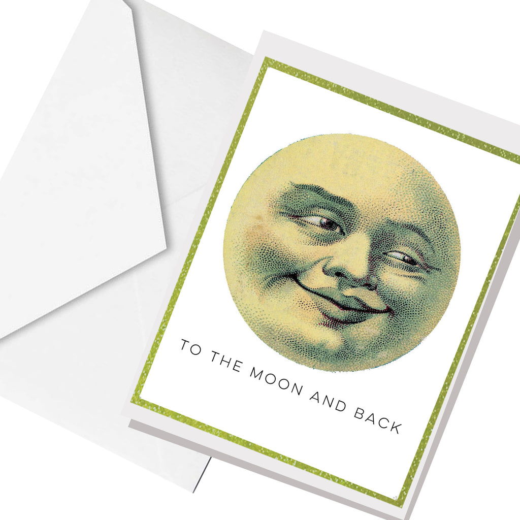 moon and back... greeting card