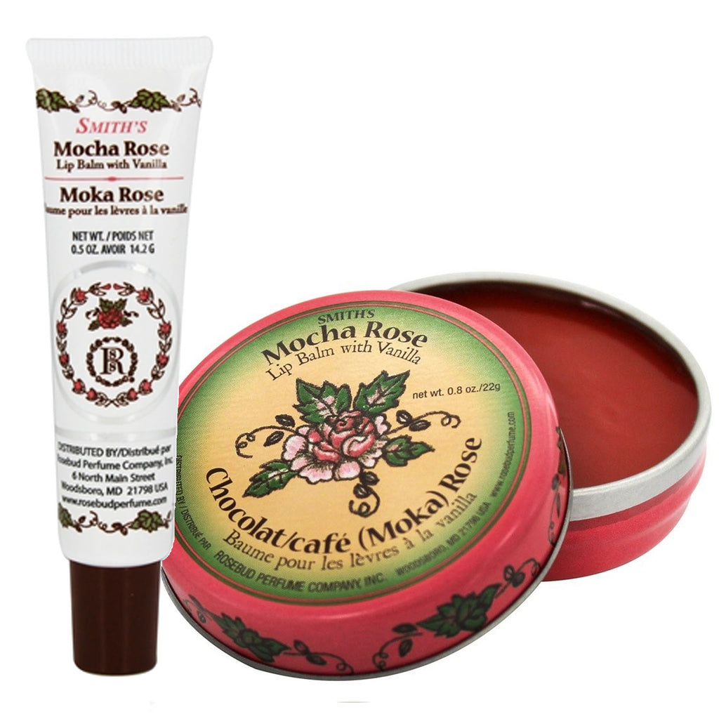 Rosebud Salve: Mocha Rose Lip Balm