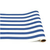 navy classic stripe: paper table runner
