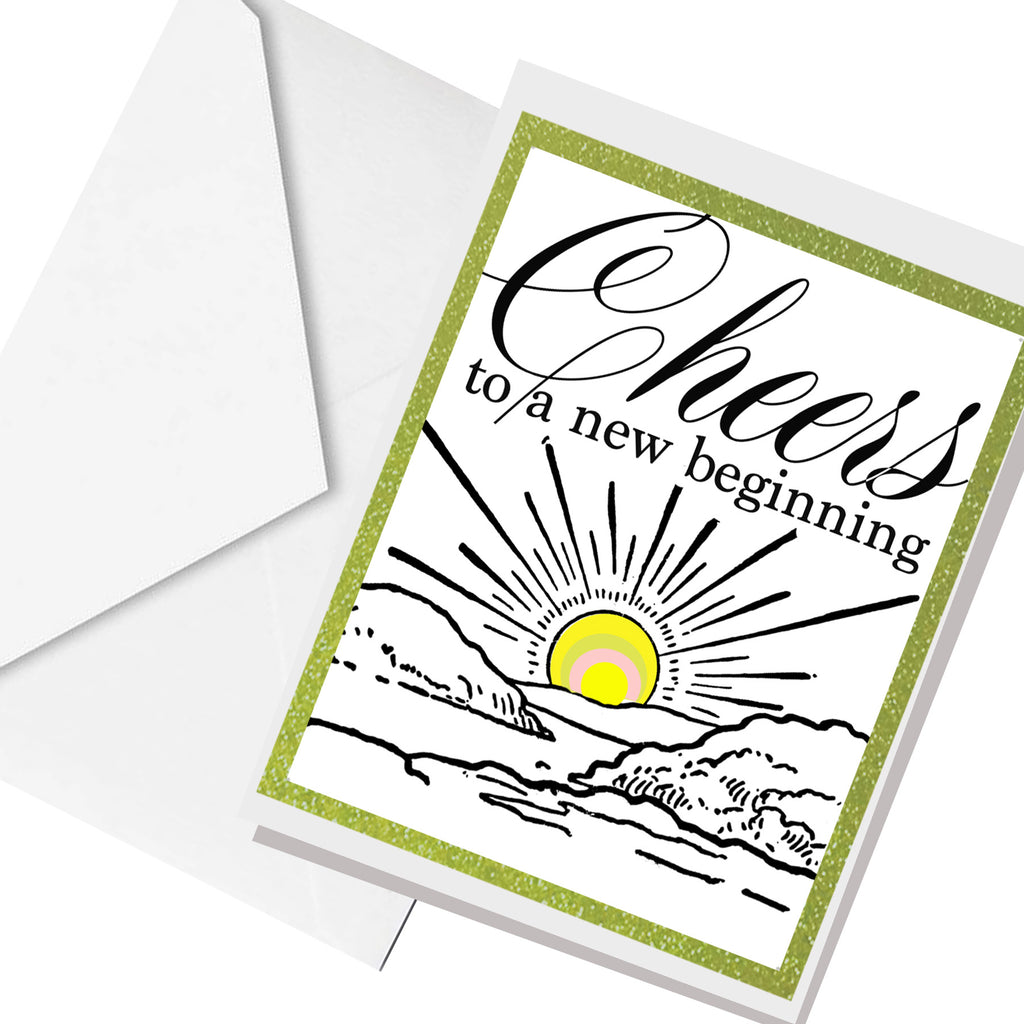 new beginning ... greeting card