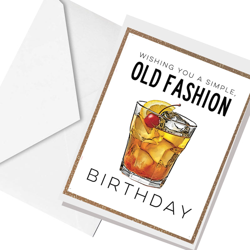 good ol' fashion birthday... greeting card