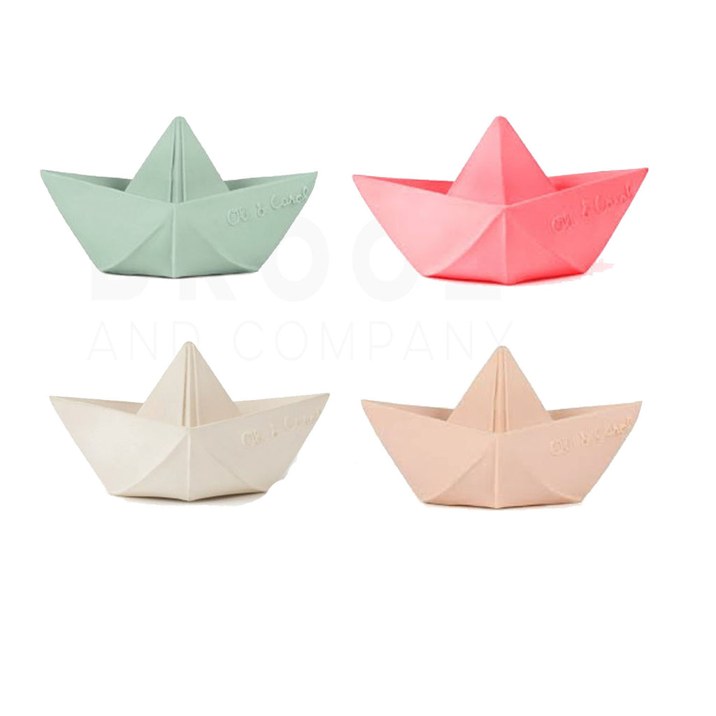 Oli & Carol- Origami Boat         (more colors)