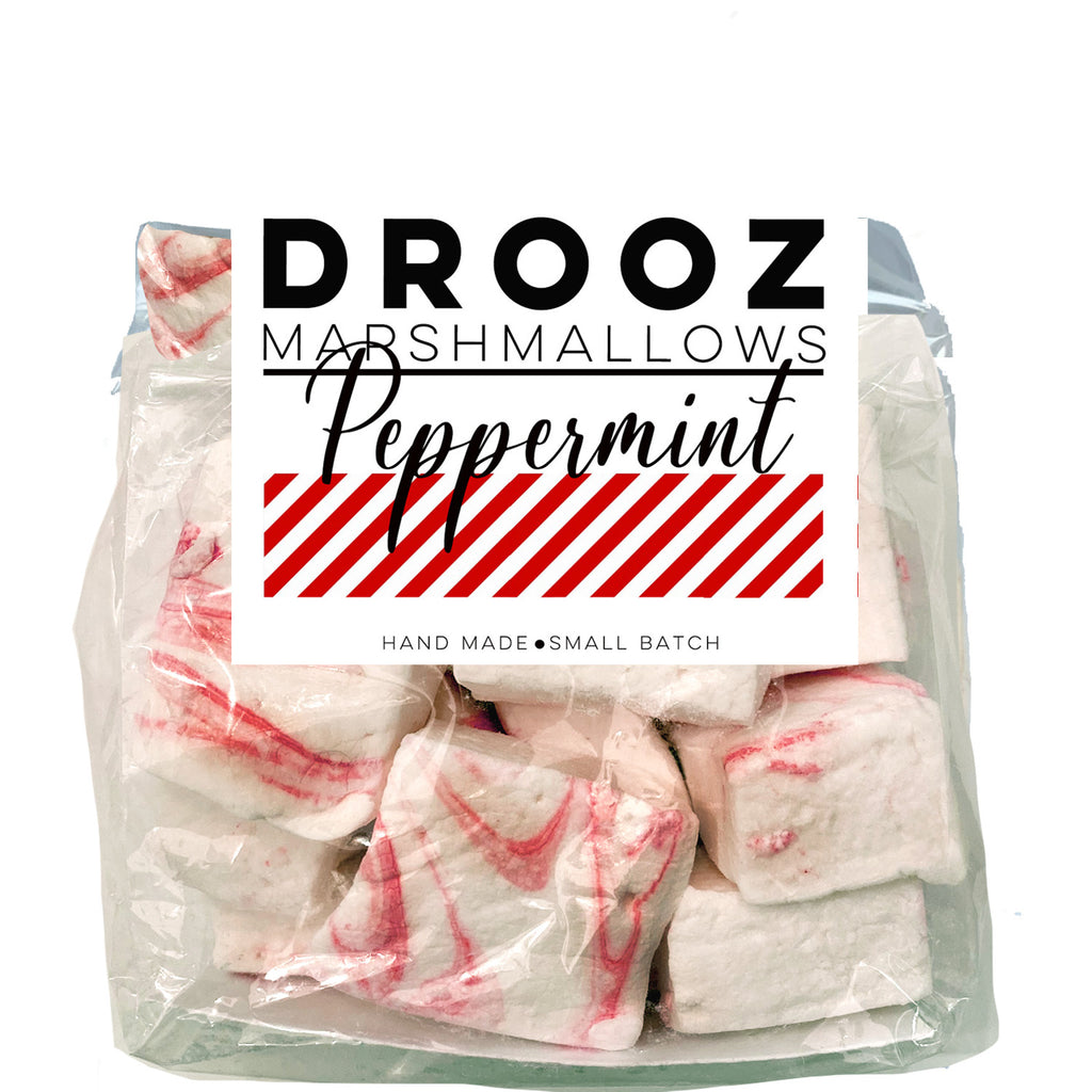 Peppermint marshmallows: DROOZ