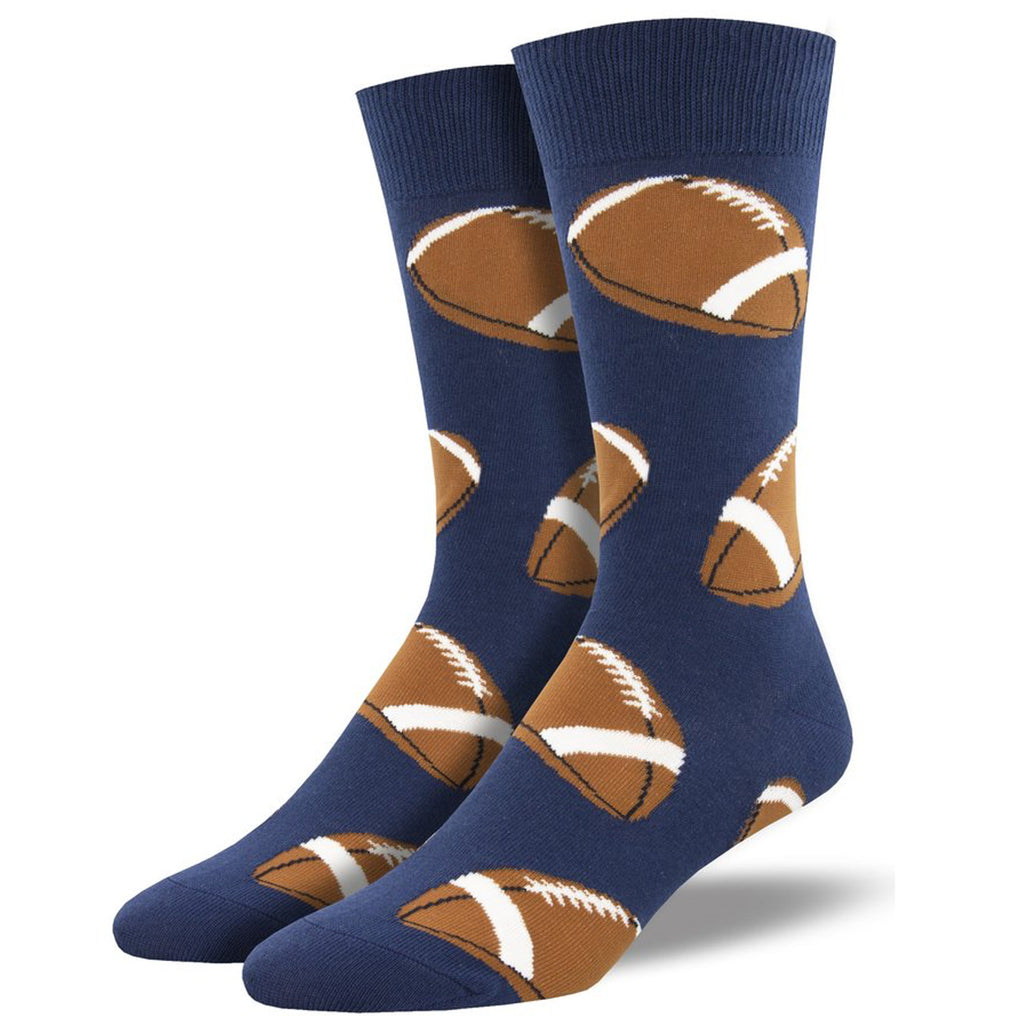football - navy sock
