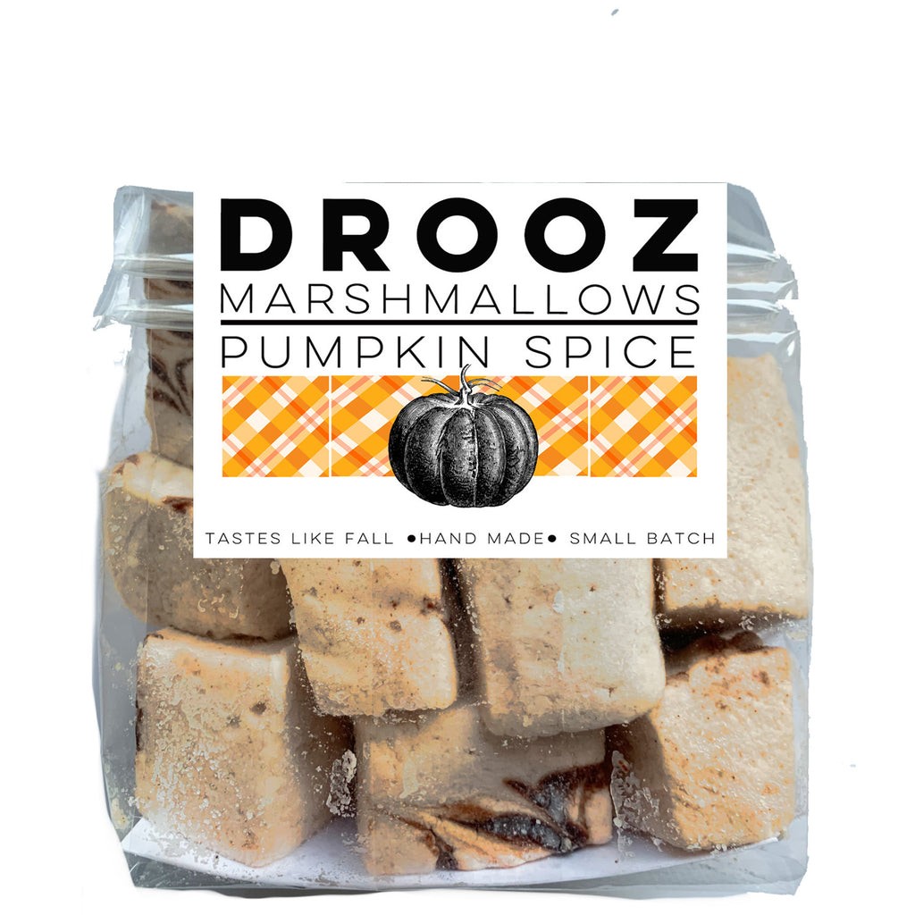 Pumpkin Spice marshmallows: DROOZ