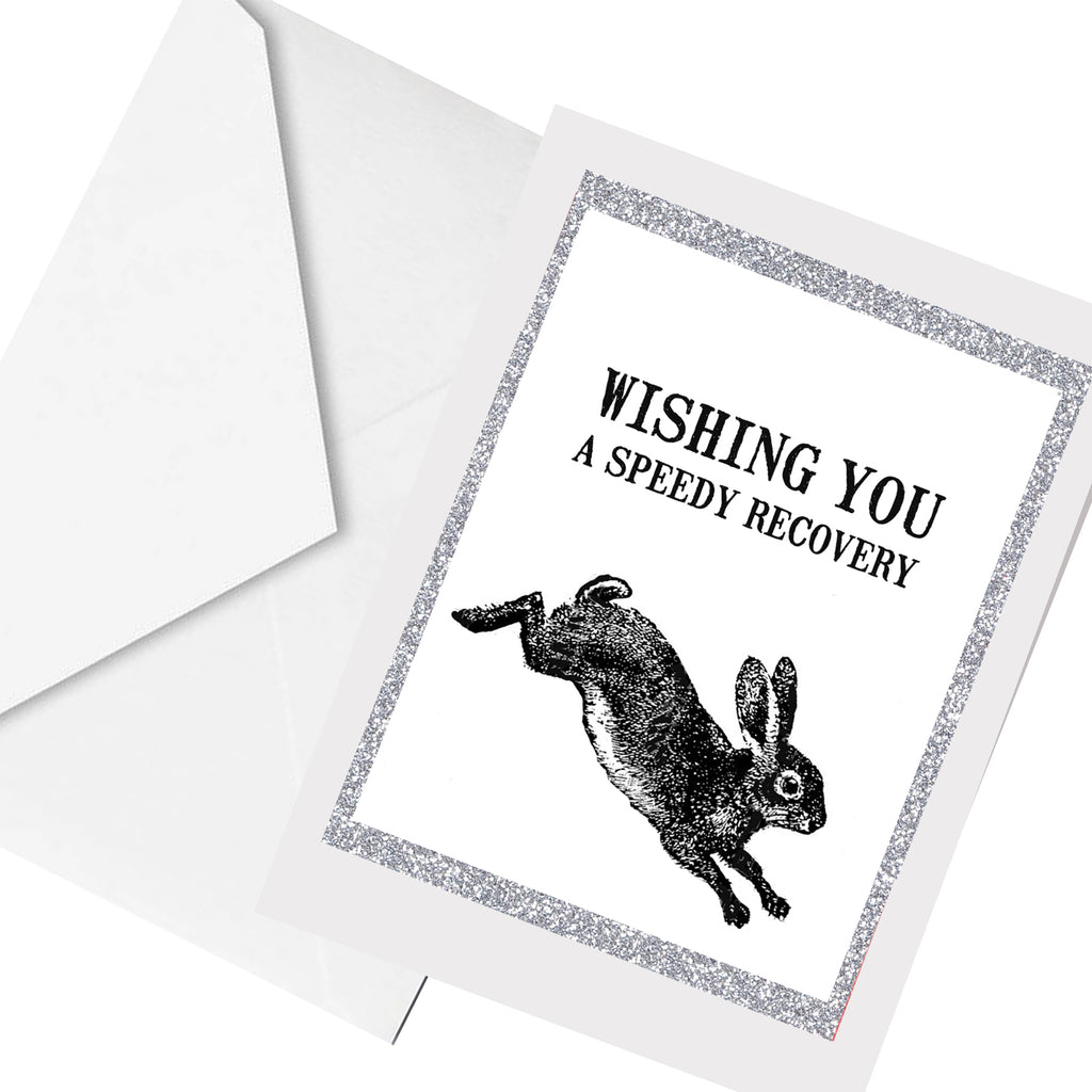 speedy recovery ... greeting card