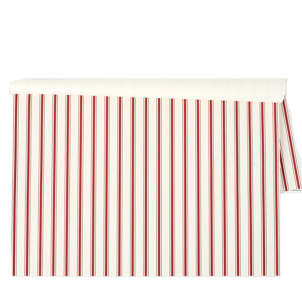 red stripe place mats