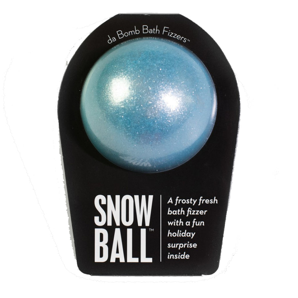 Snowball: DaBomb bath fizzes
