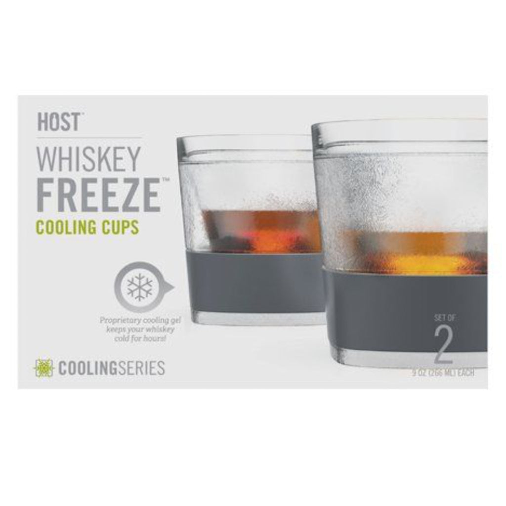 Glass FREEZE Whiskey Glass (SET OF 2) By Host