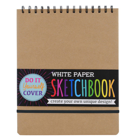 HANDY WHITE PAPER SKETCHBOOK