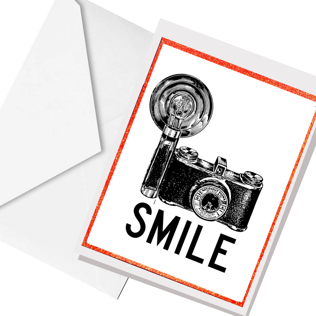 SMILE... greeting card