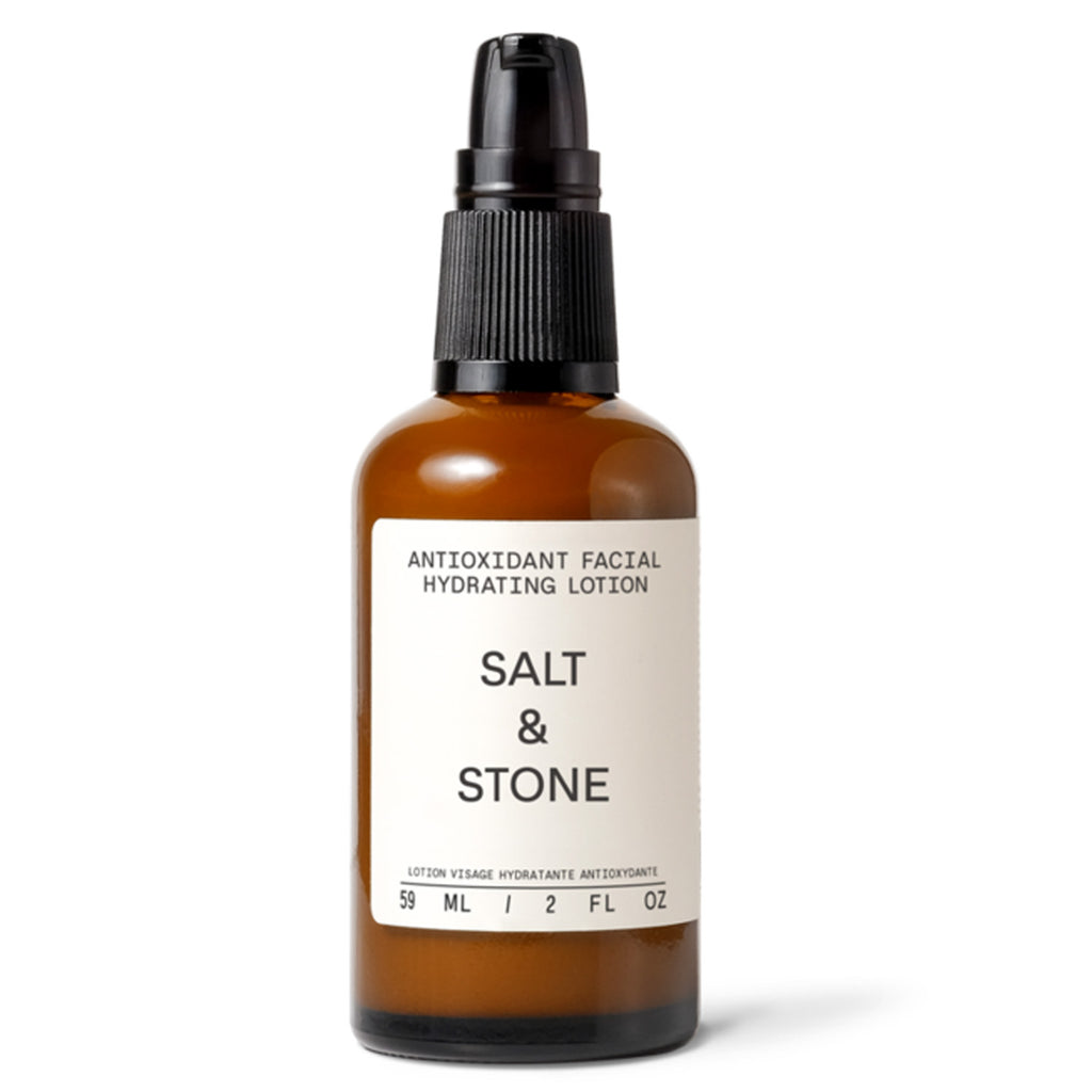 ANTIOXIDANT FACIAL HYDRATING LOTION: salt & stone