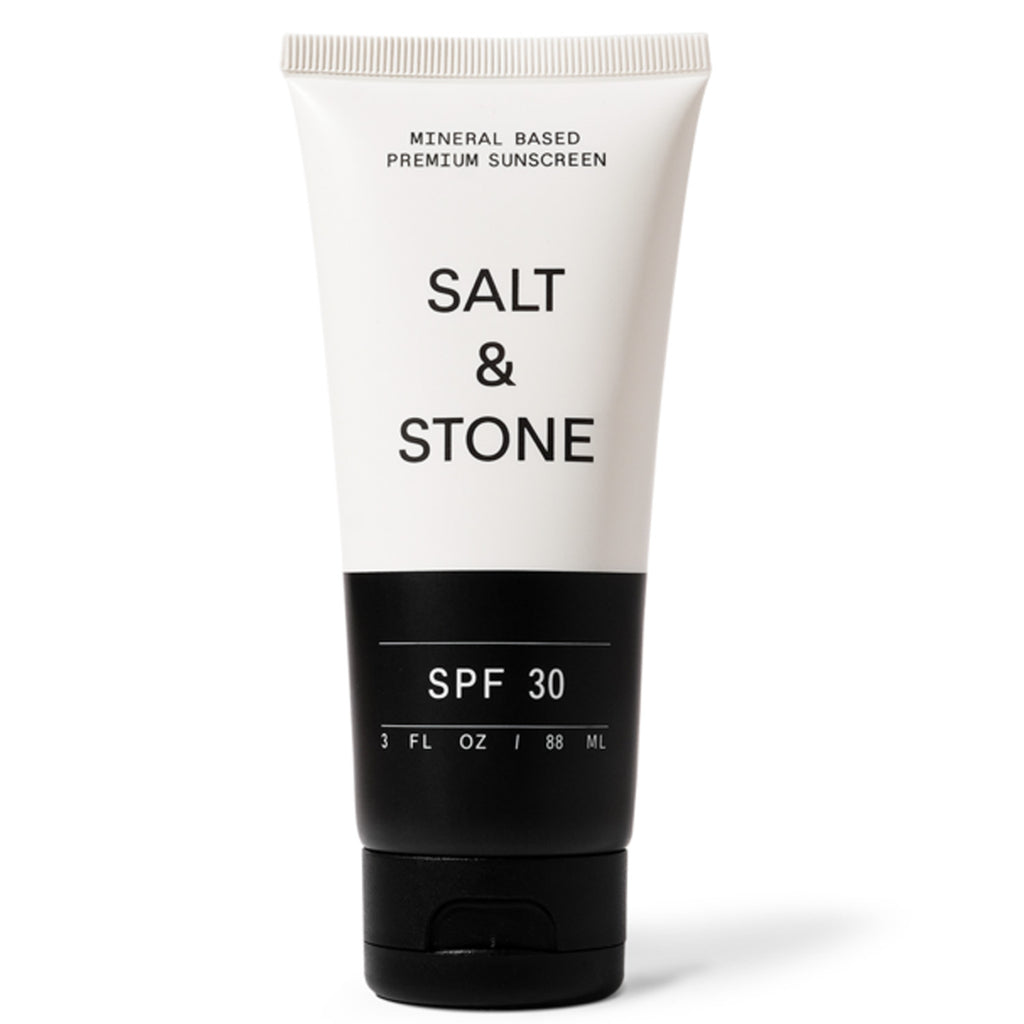 SPF 30 SUNSCREEN LOTION: salt & stone