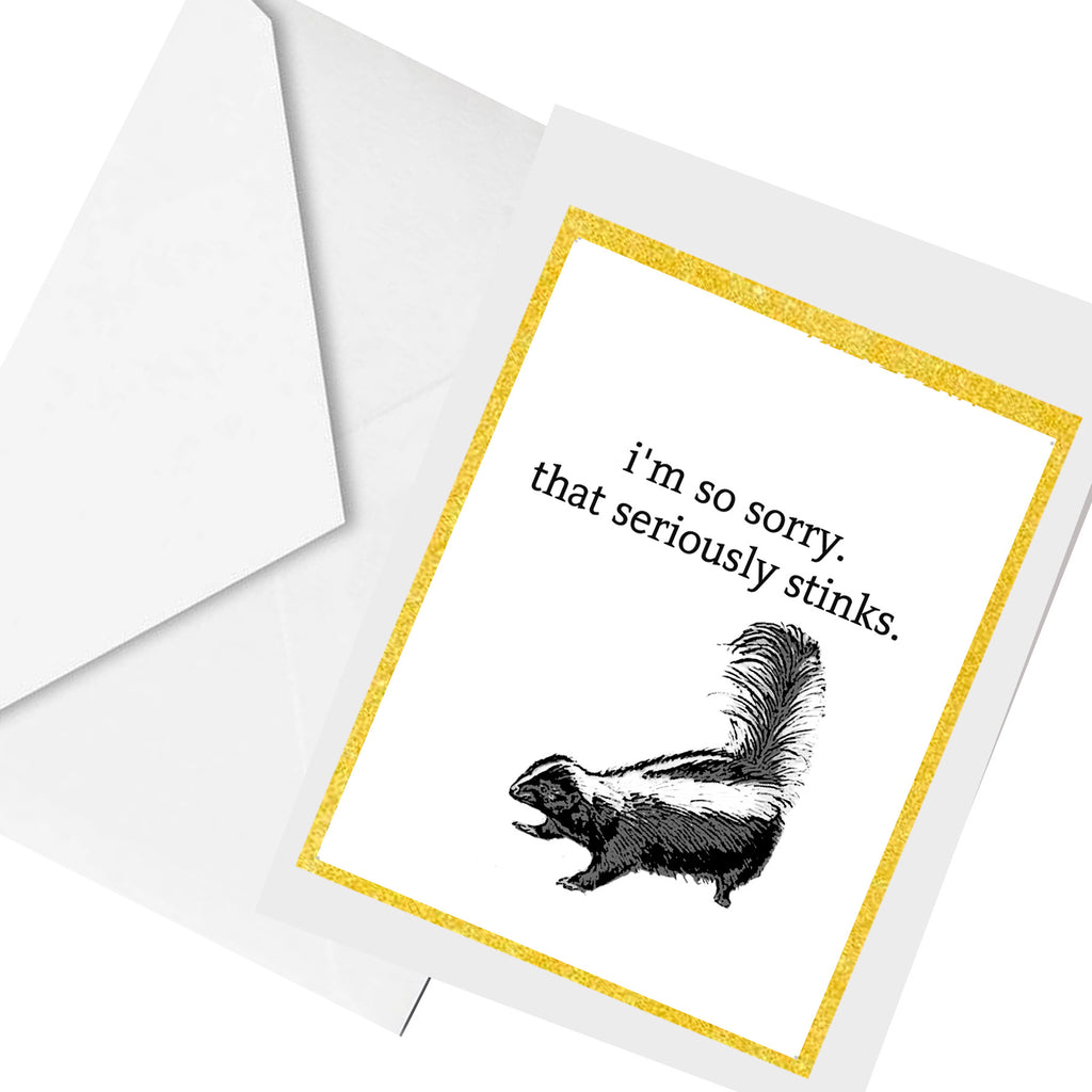 that stinks ... greeting card