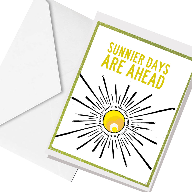 sunnier days ... greeting card
