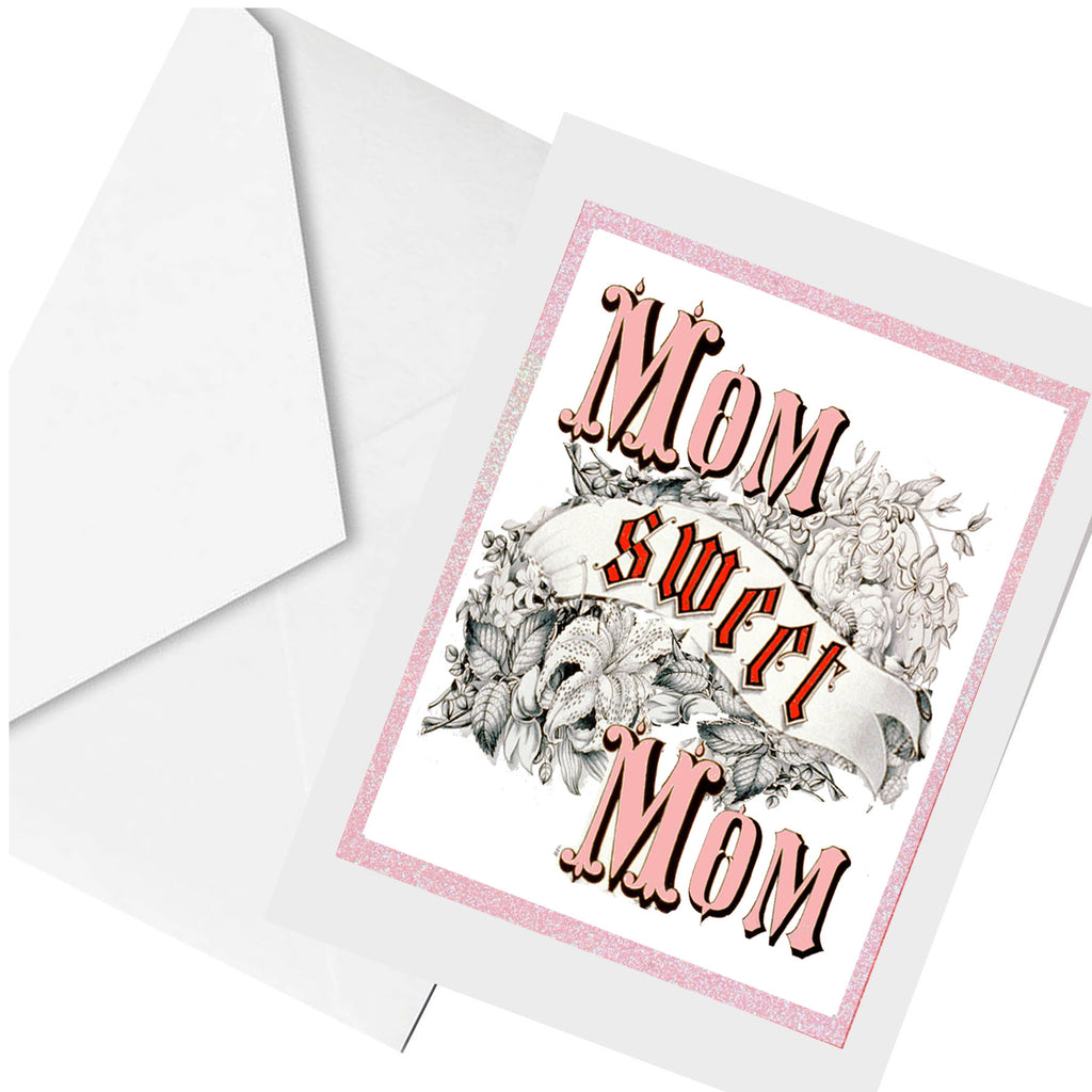 mom sweet mom... greeting card