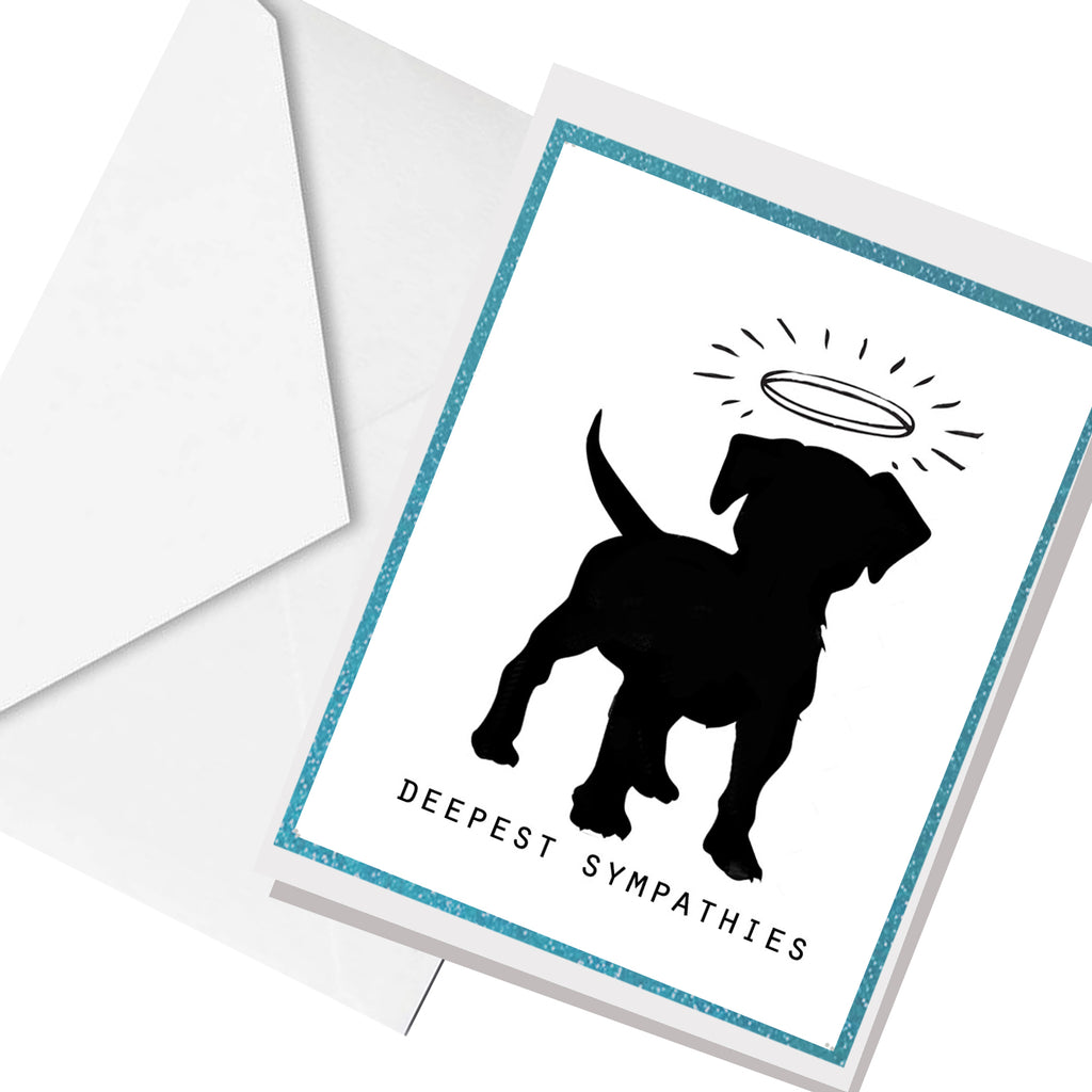 dog sympathy  ... greeting card
