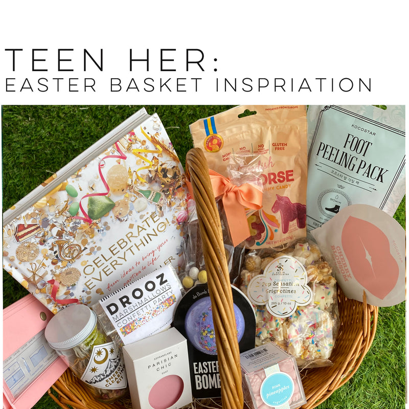 teen her: Easter Basket ideas...