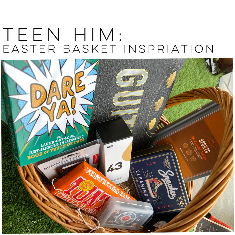 teen him: Easter Basket ideas...