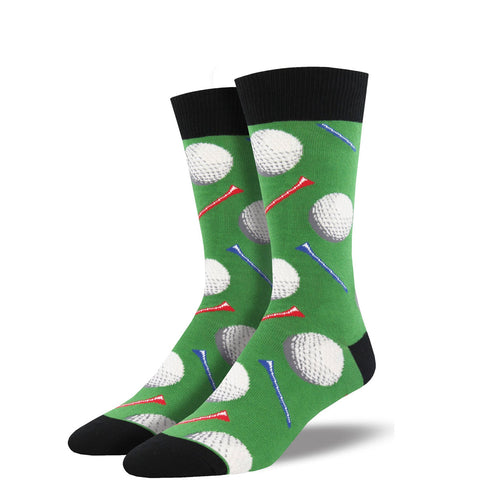 men's sock: Tee it UP