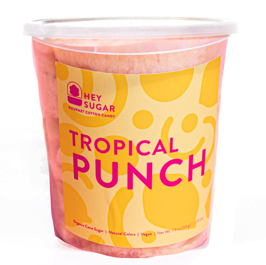 Tropical Punch Cotton Candy
