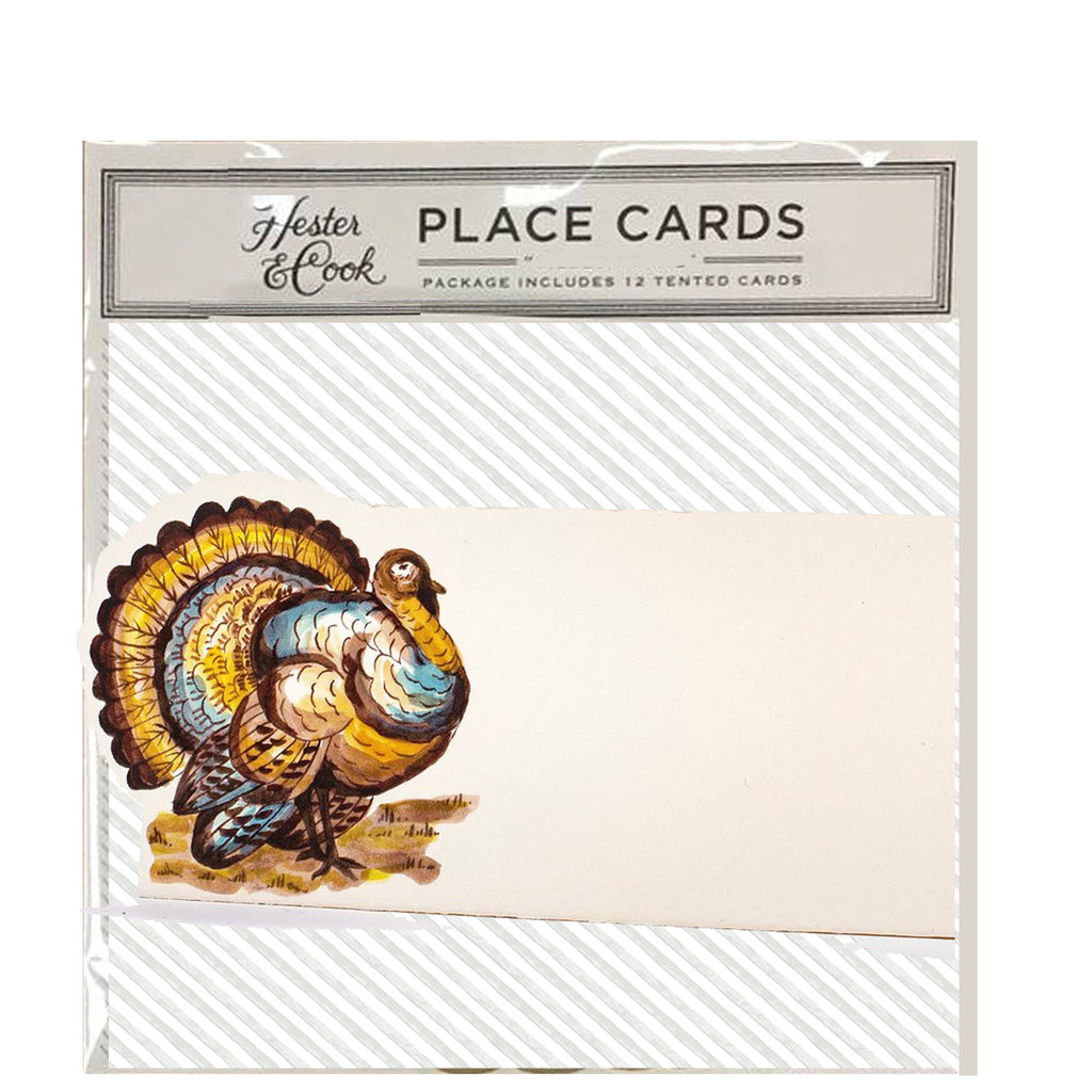 Turkey: place cards
