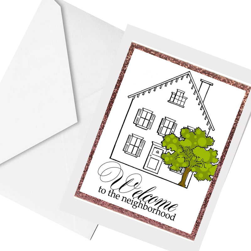 welcome ... greeting card