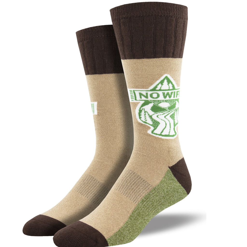 no wifi hemp sock