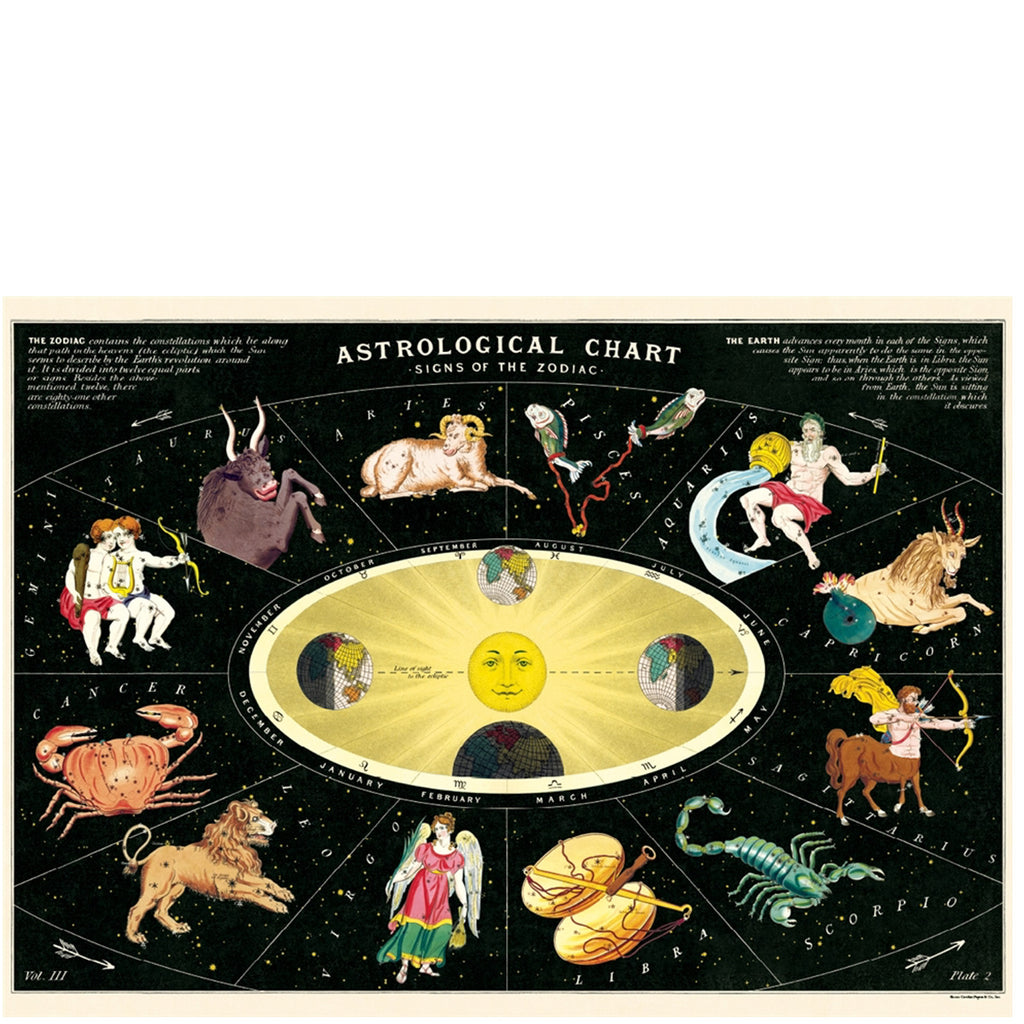 Zodiac 2 Astrological Poster