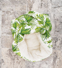 Burrow Bed - Single Palm Print