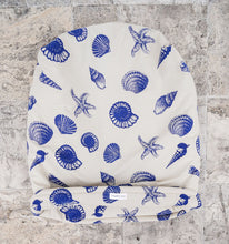 Burrow Bed - Sea Shell Linen Print