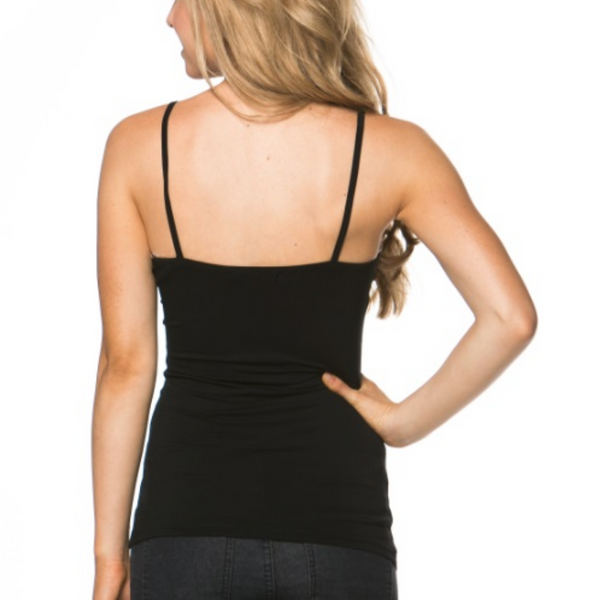 Essential Modal Black Cami