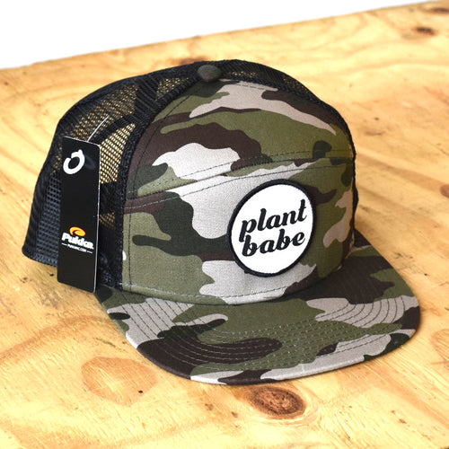plant babe men's hats- camo